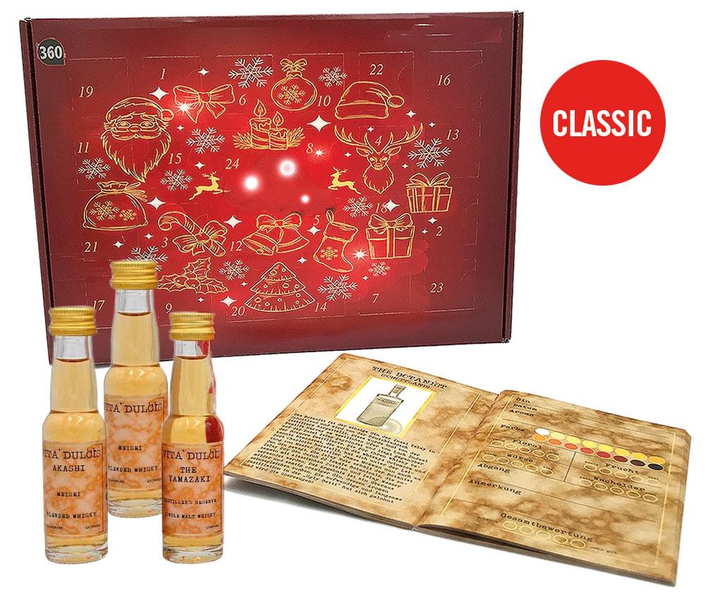 Whisky Adventskalender Classic