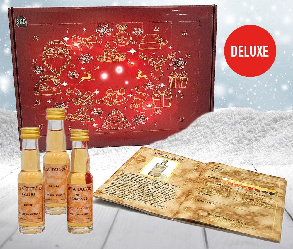 Whisky Adventskalender Deluxe