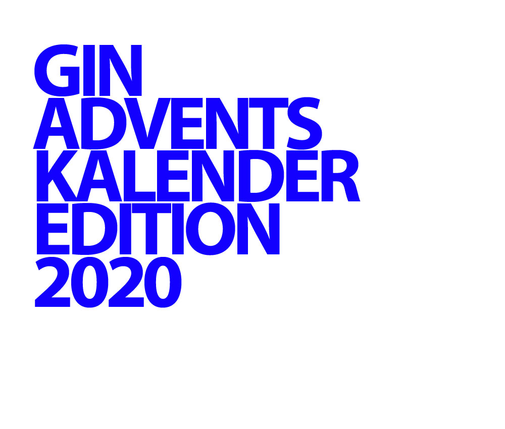 Gin Adventskalender Edition 2020