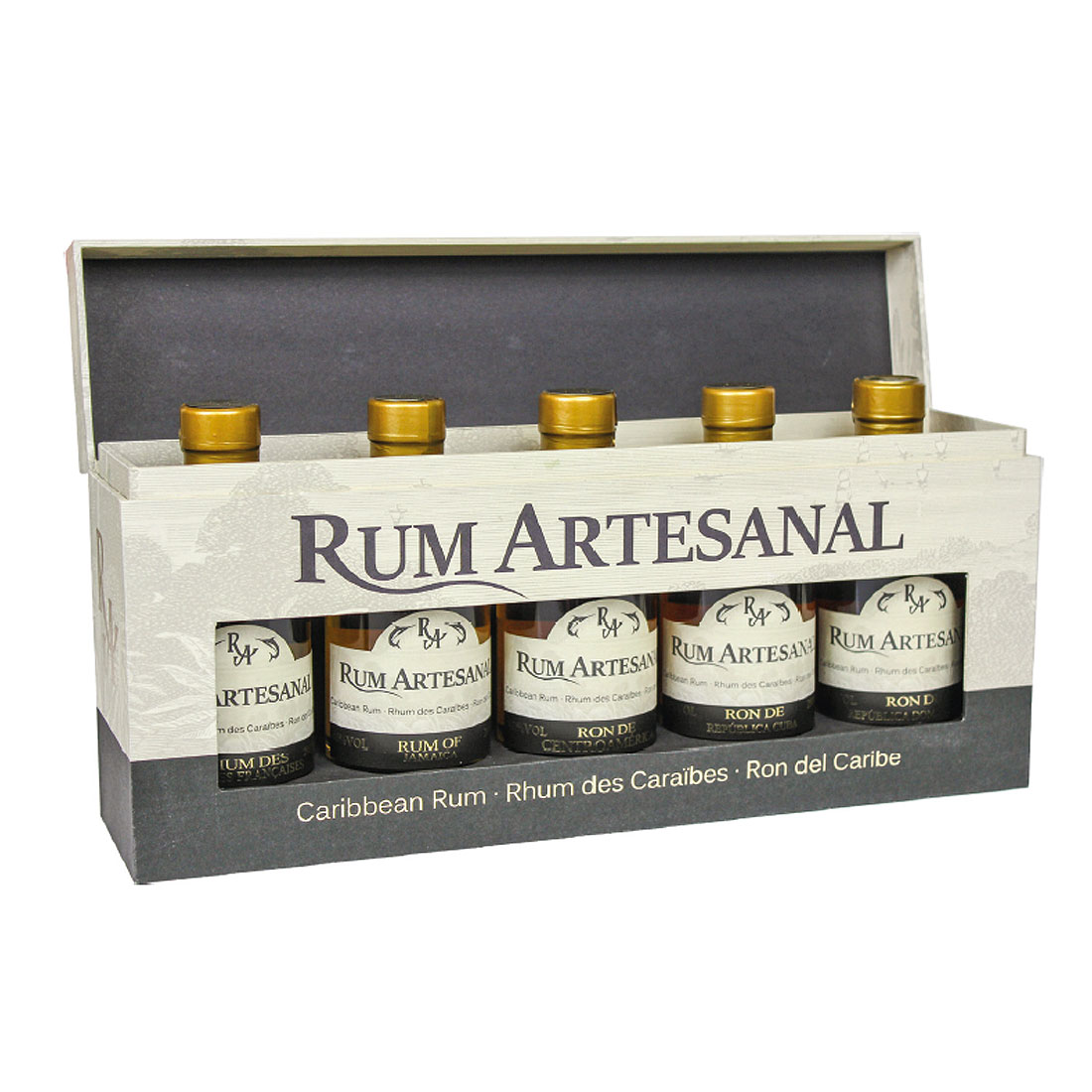 Rum Artesanal - Das 5er Caribbean Rum Set